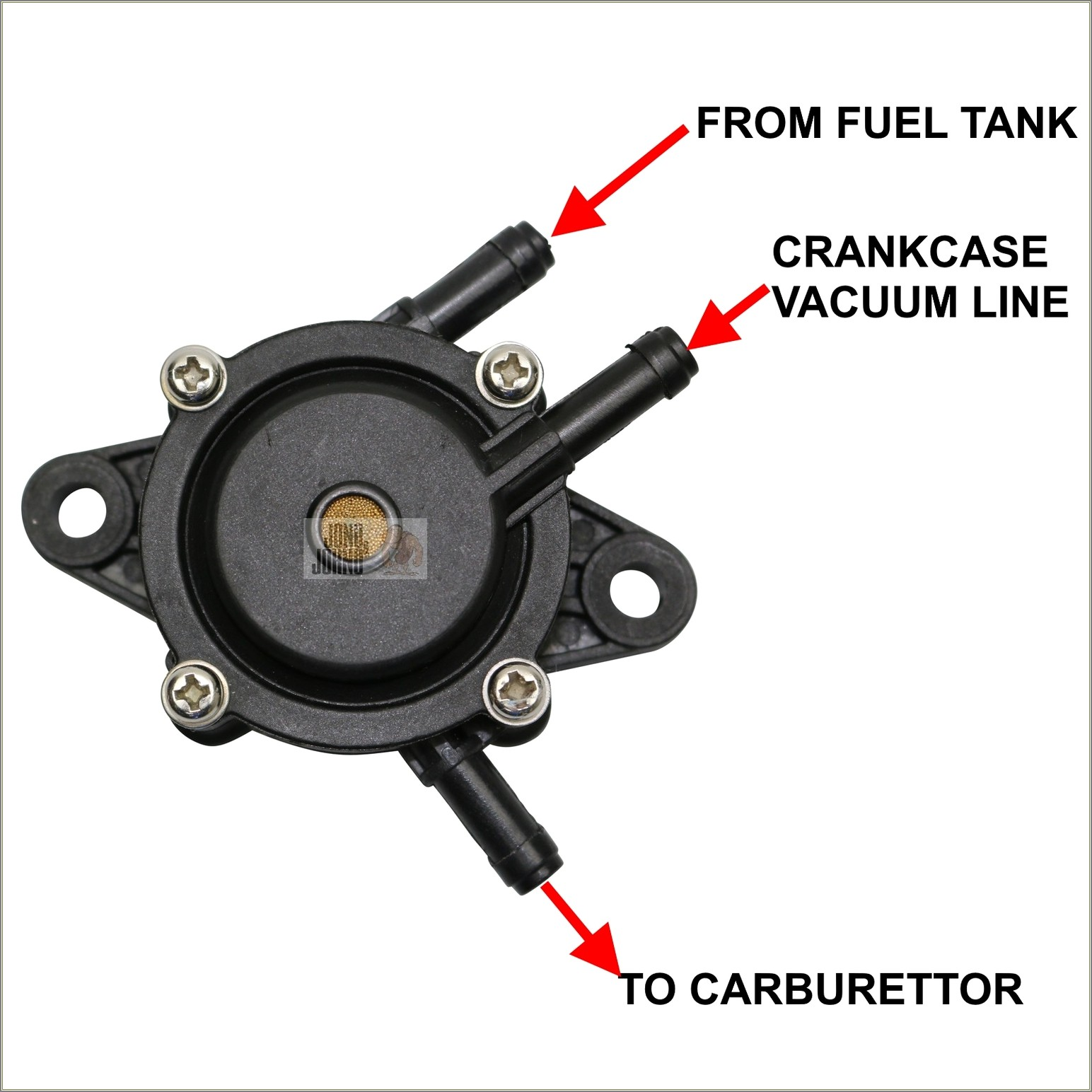 Briggs Fuel Pump Diagram