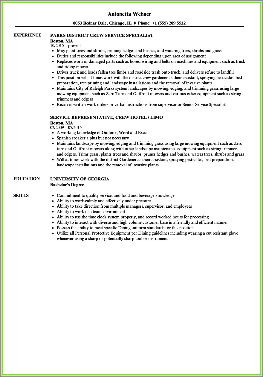 Bud Trimmer Cover Letter Examples