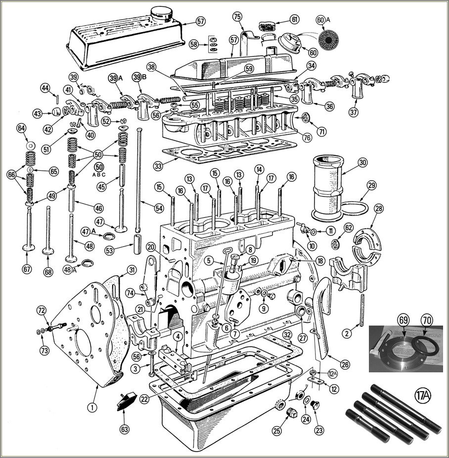 Car Engine Schematic Diagram