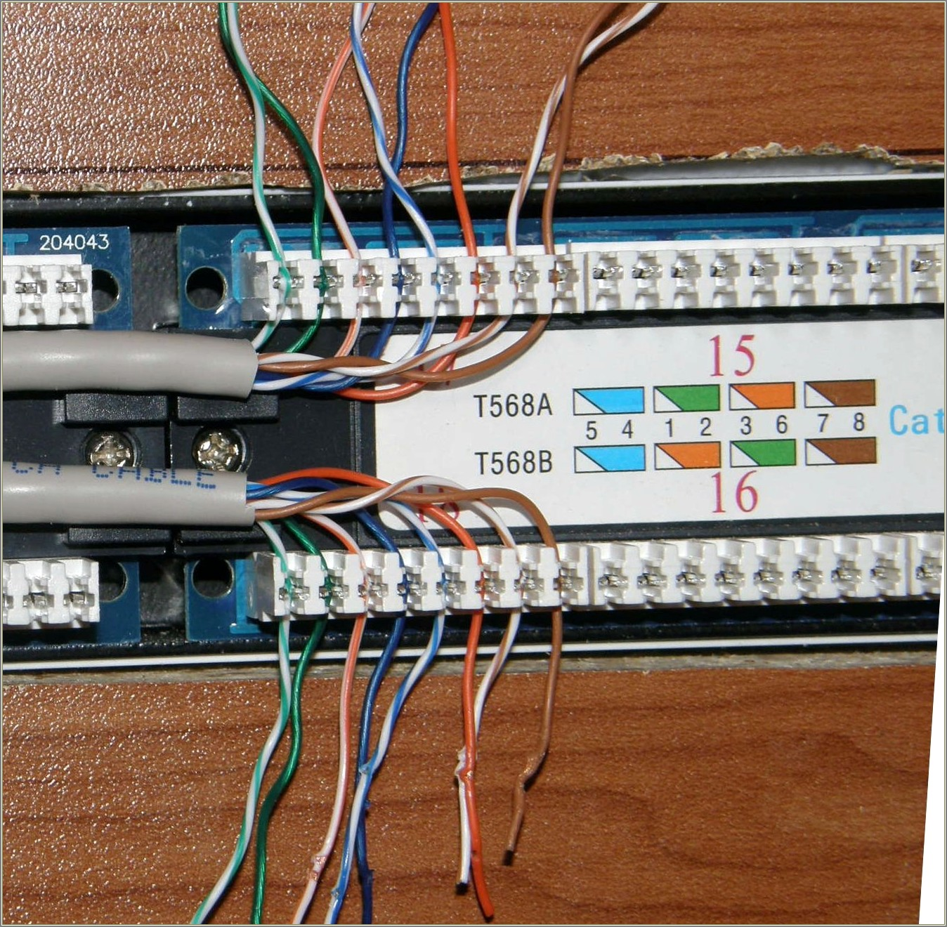 Cat6 Patch Panel Wiring Diagram