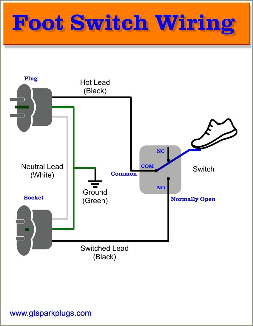 Clipper Foot Switch Wiring Diagram