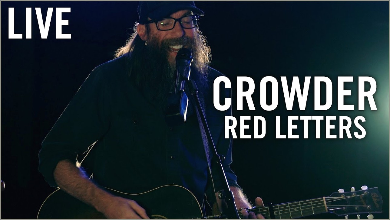 Crowder Red Letters Live