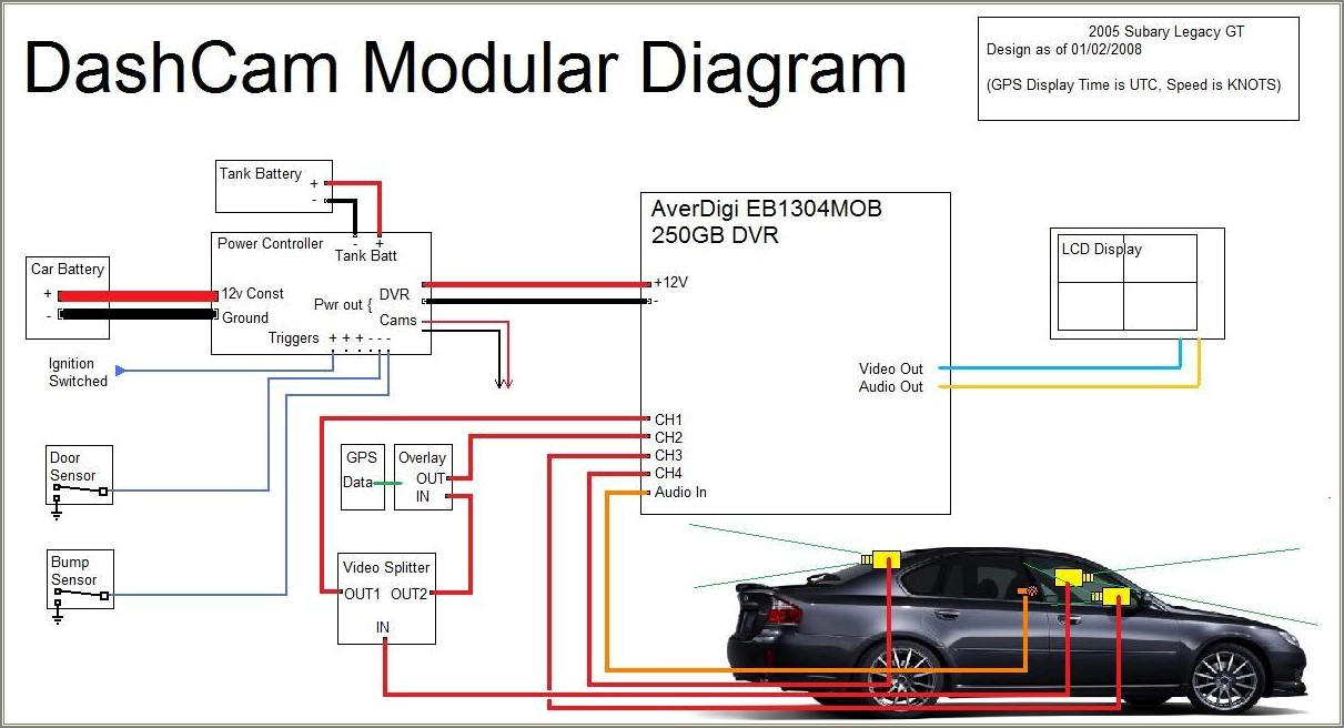 Dash Cam Wiring Diagram
