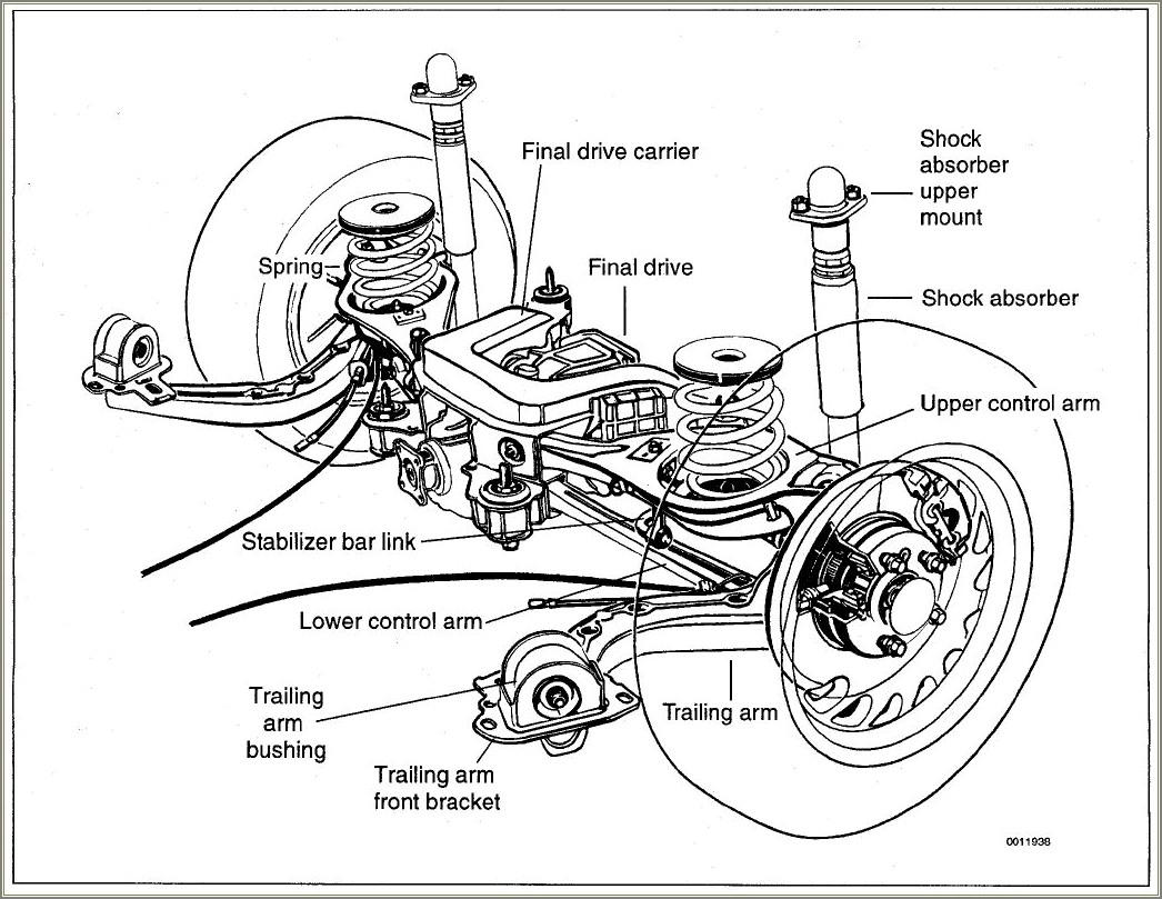 E46 Rear Suspension Diagram