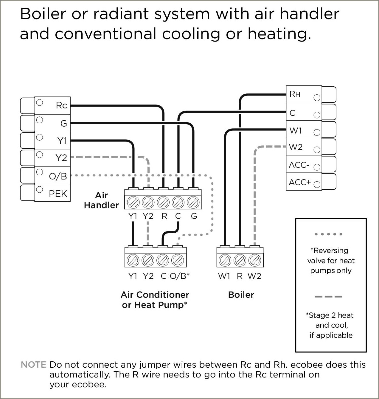 Ecobee 4 Thermostat Wiring Diagram