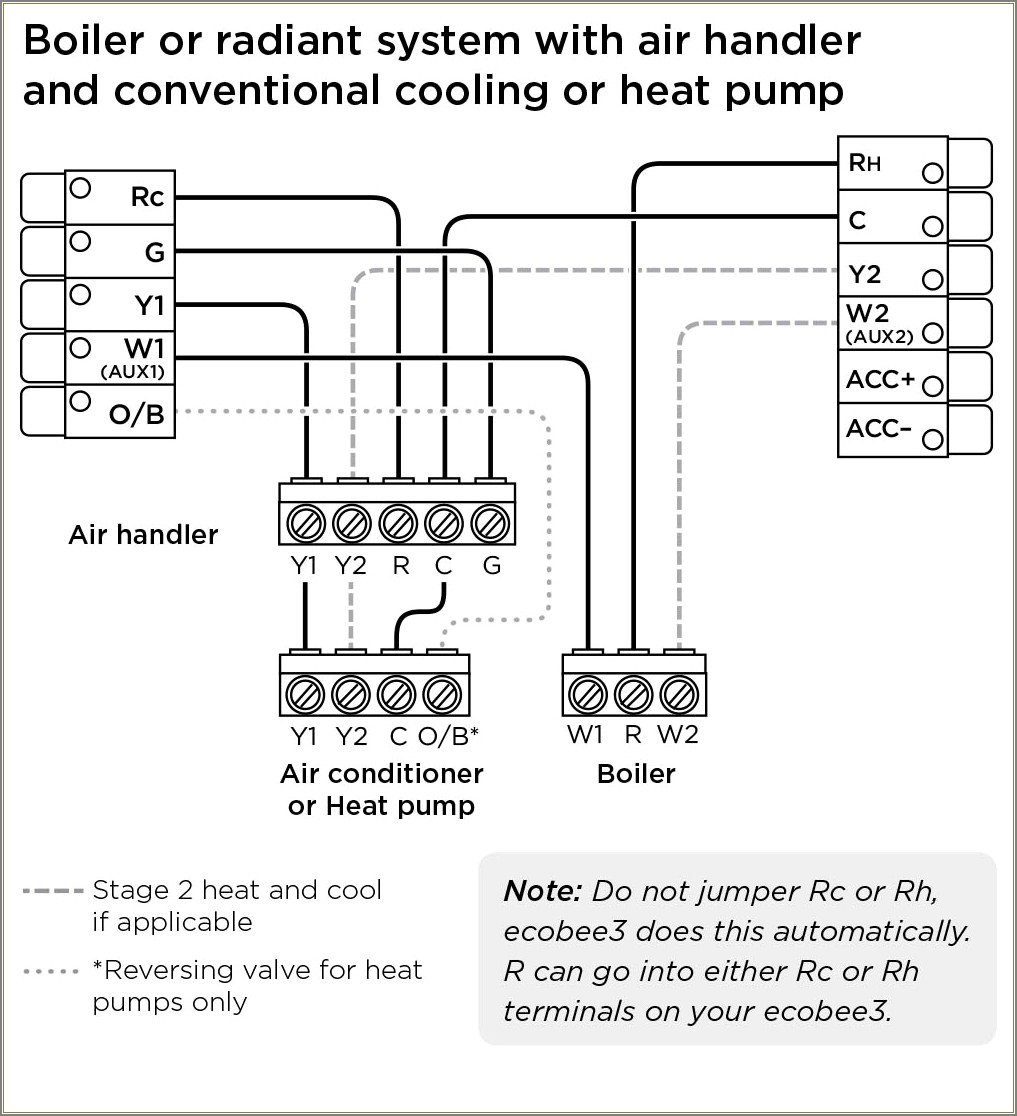 Ecobee Wiring Diagram Heat Pump