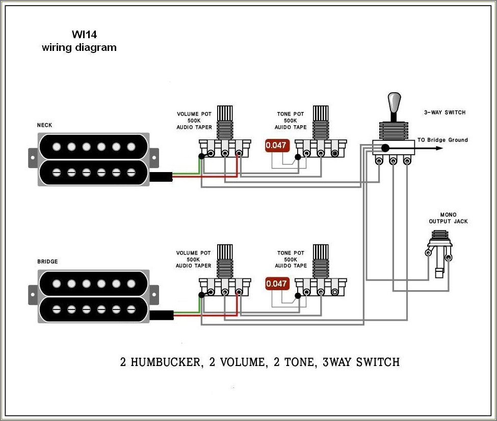 Electric Guitar Wiring Diagram