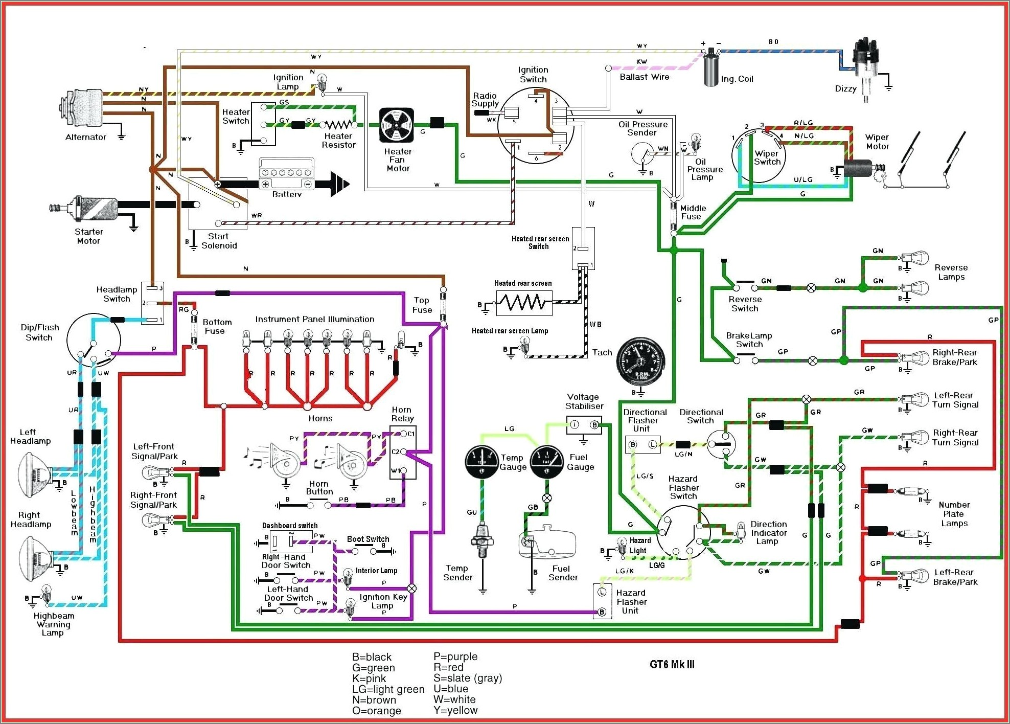 Electrical Schematic Diagram Drawing