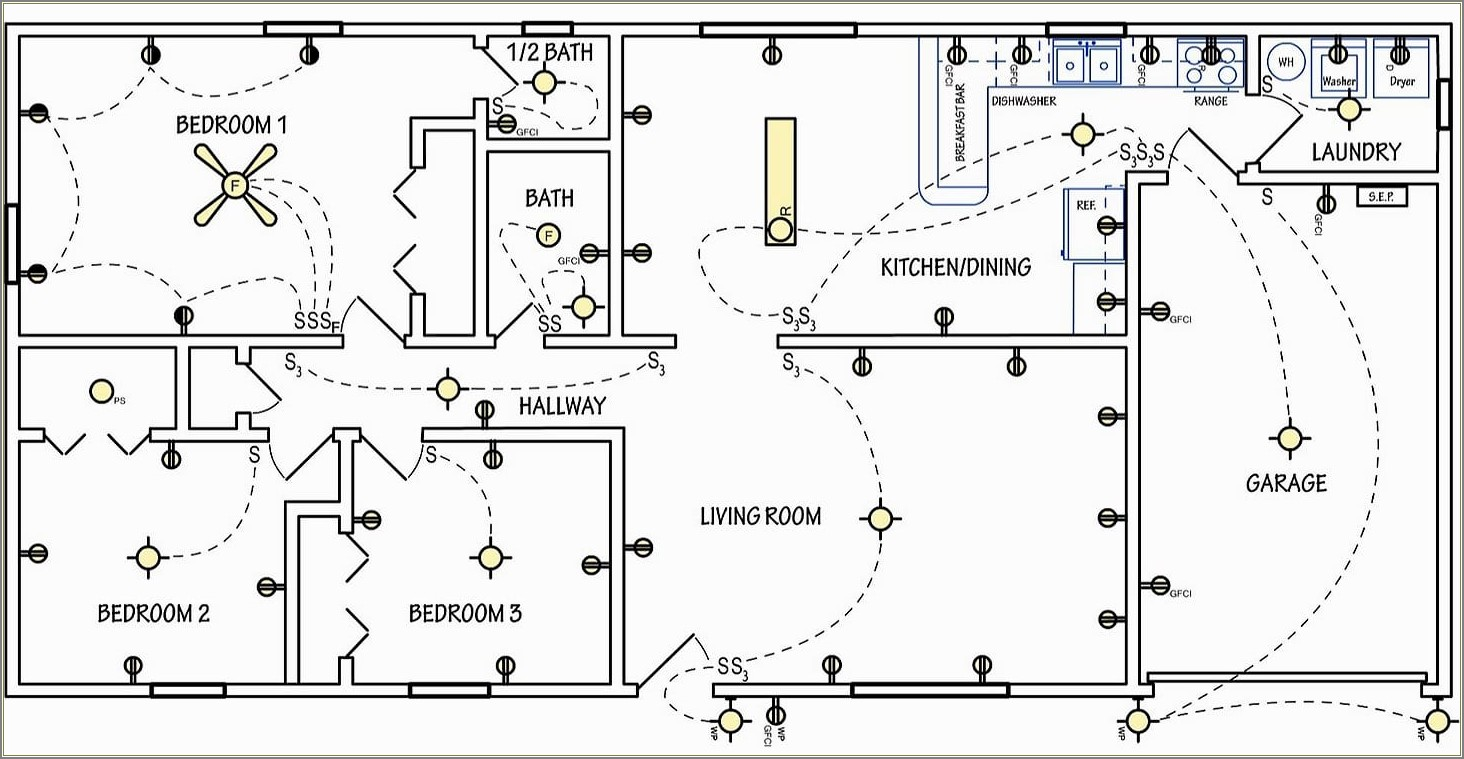 Electrical Schematic Diagram For Residential Building