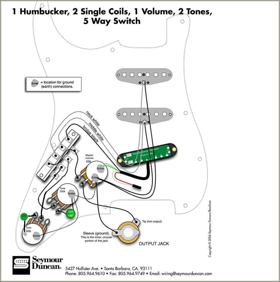 Fender Elite Stratocaster Wiring Diagram