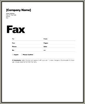 Fillable Cover Letter Template