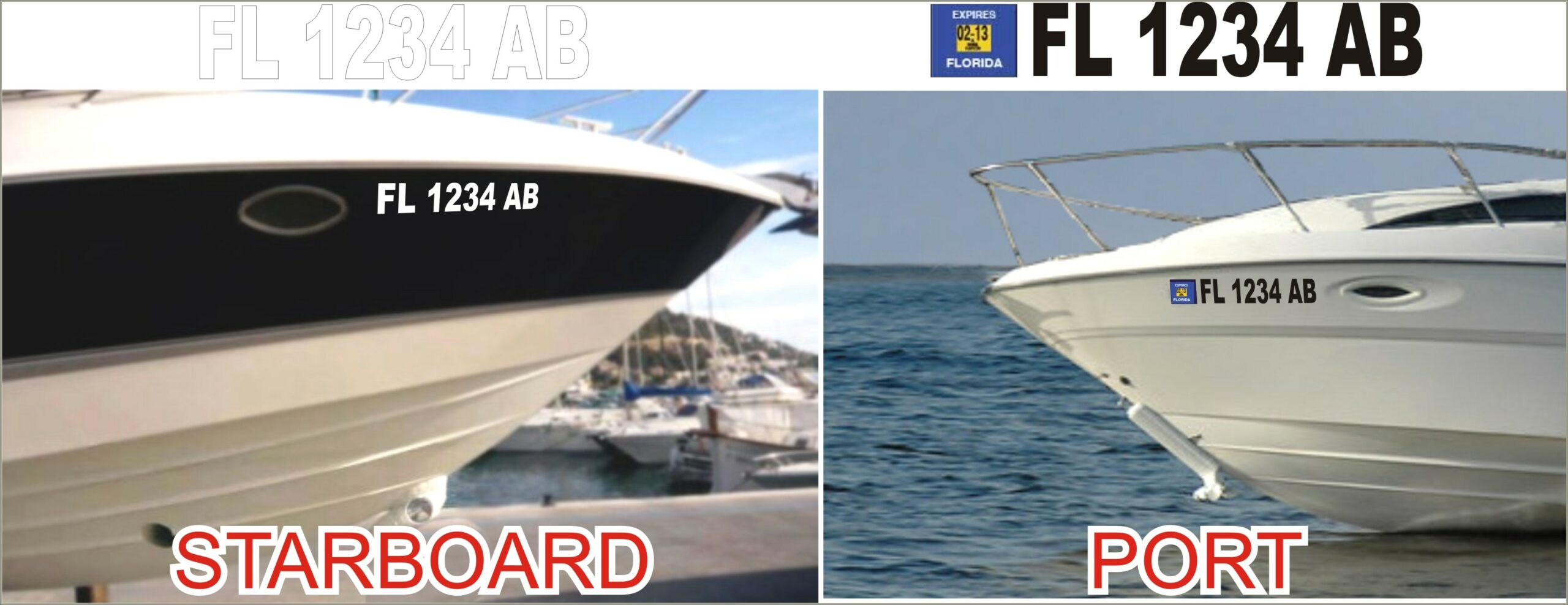 Florida Boat Lettering Requirements