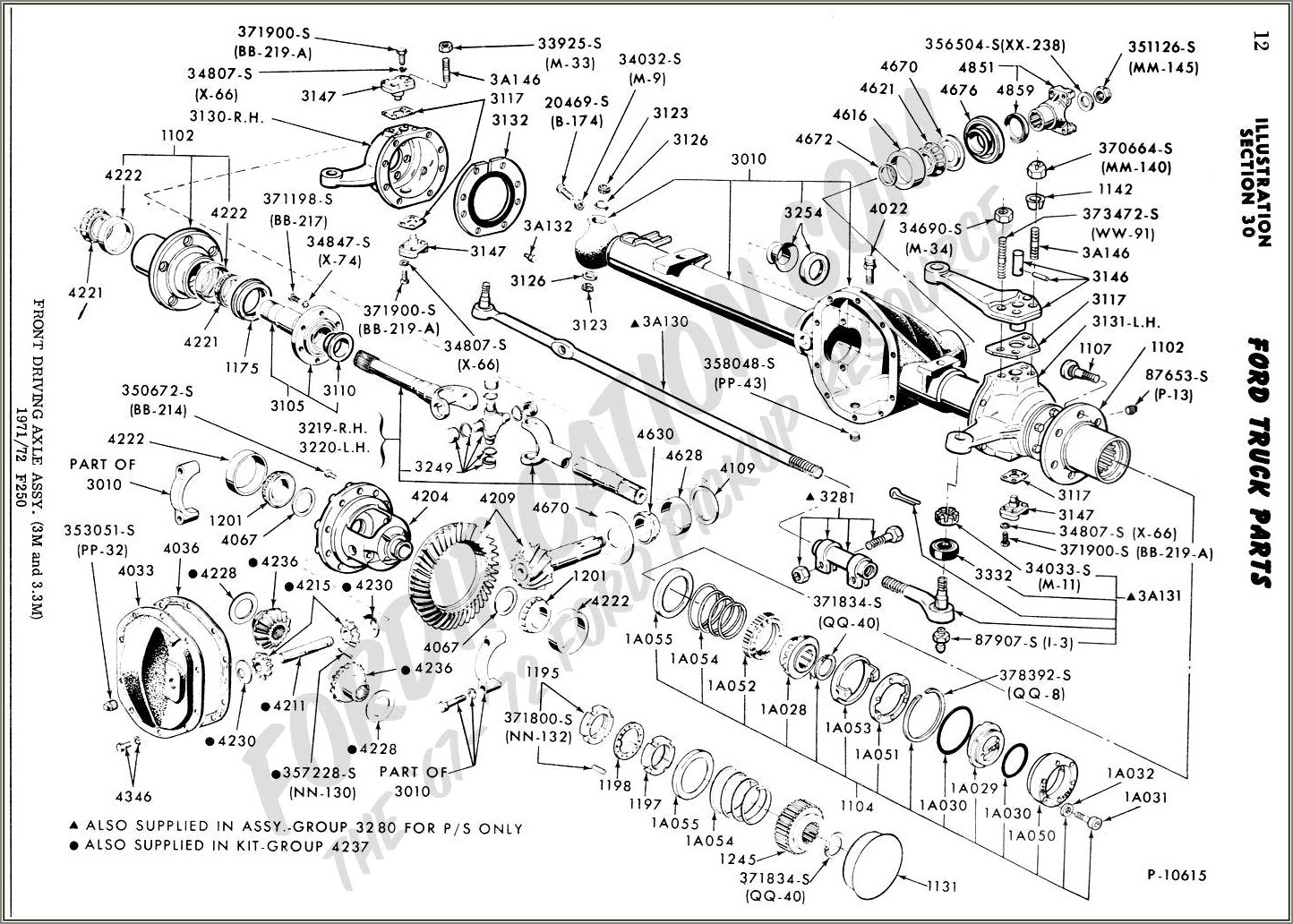 Ford F150 Front Axle Diagram