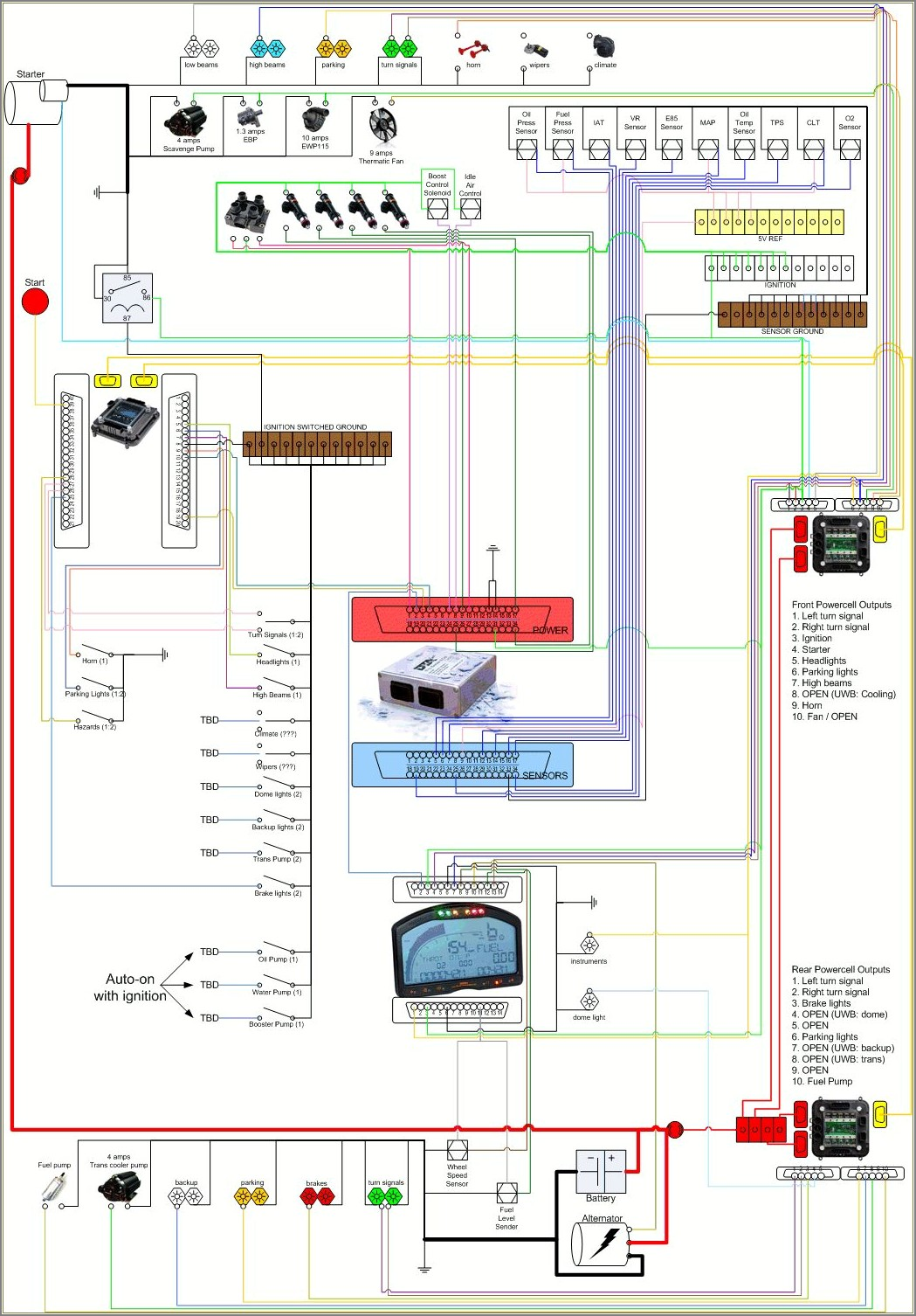 Free Wiring Diagrams For Cars