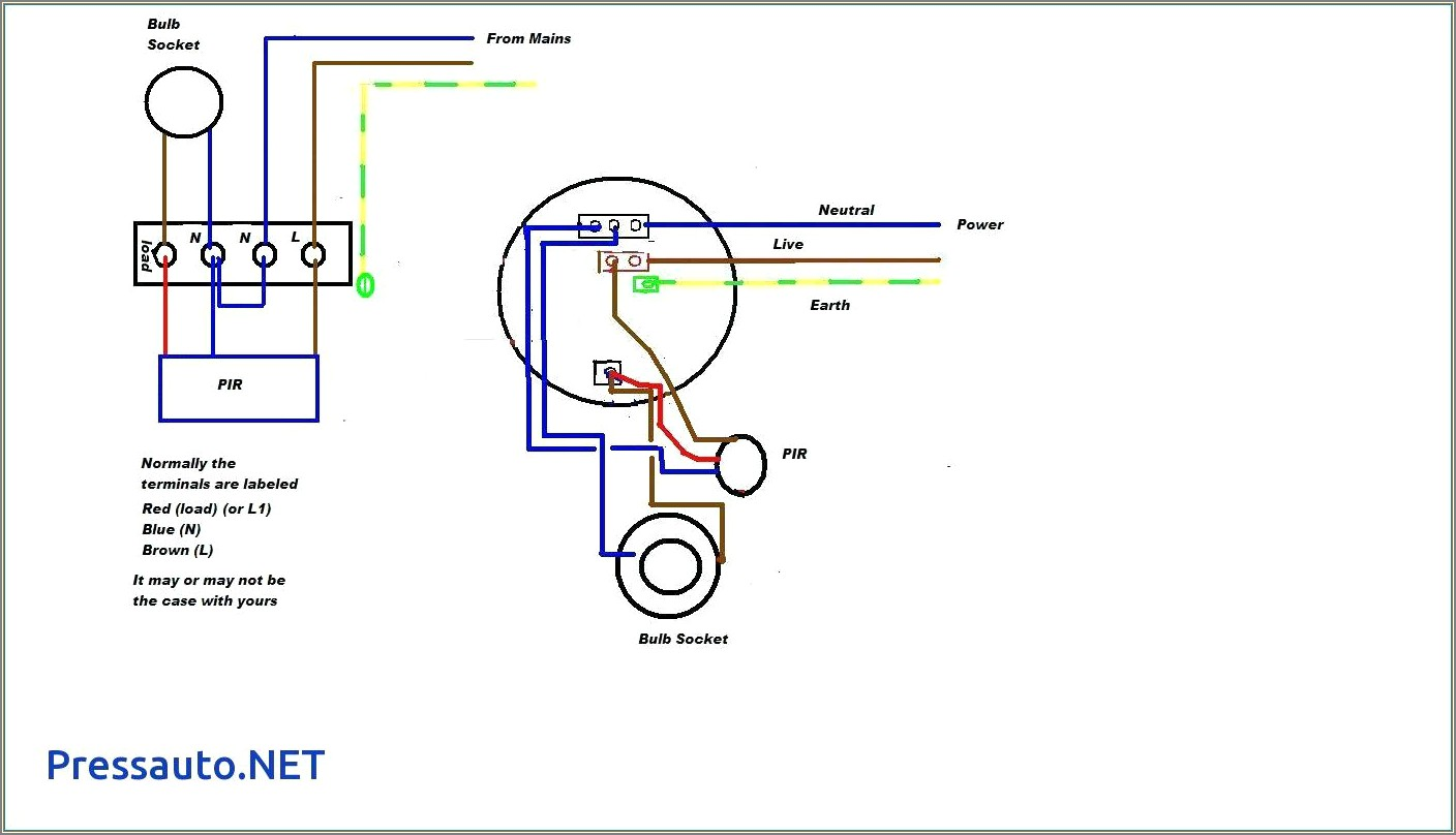 Gate Photocell Wiring Diagram