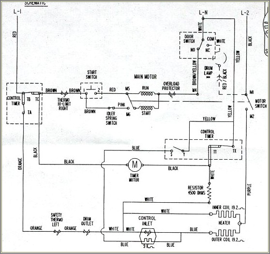 Ge Dryer Schematic Diagram