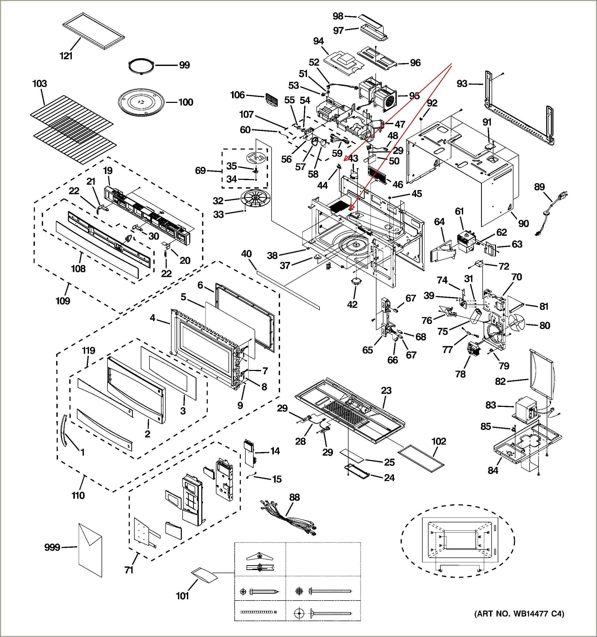 Ge Microwave Schematic Diagram