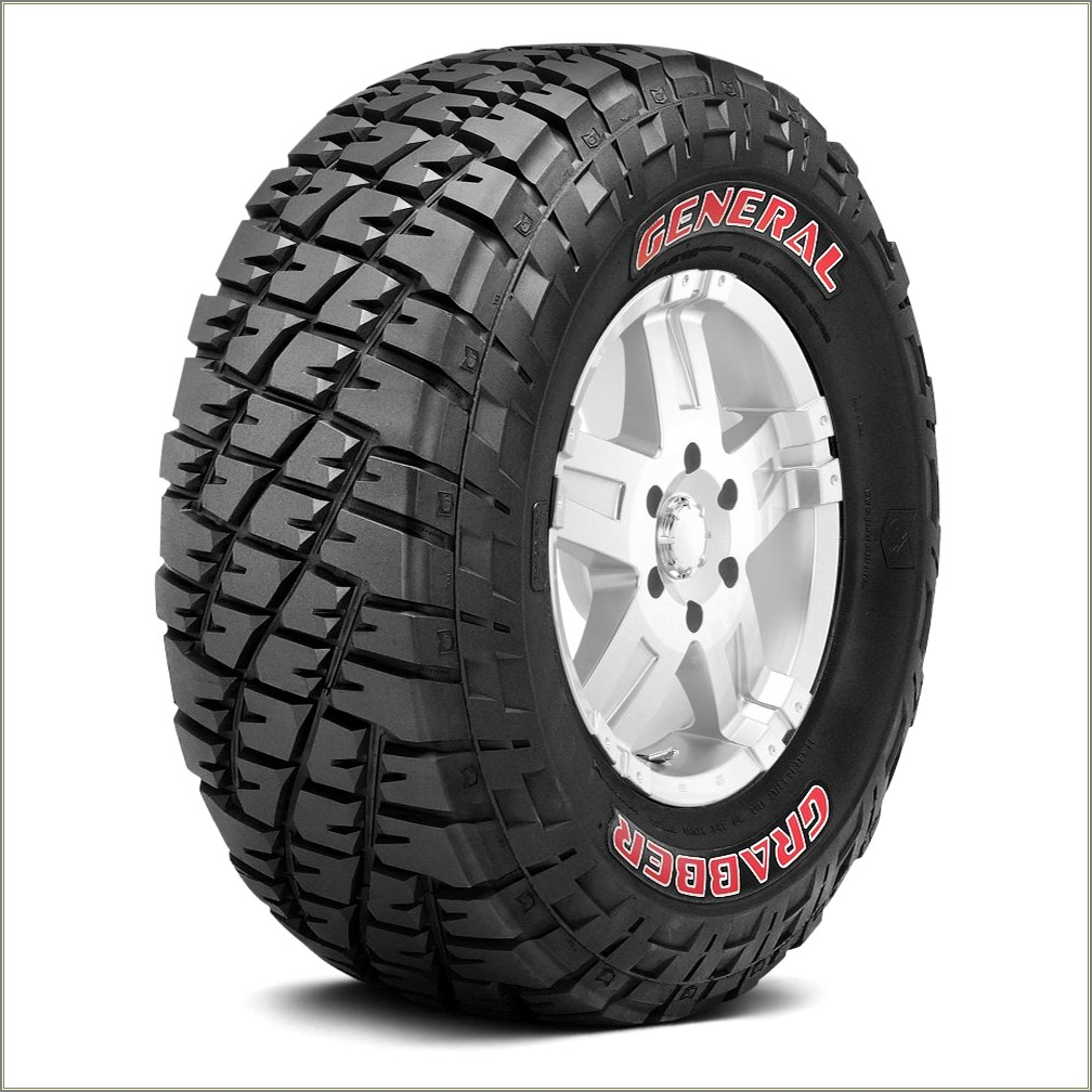 General Grabber Red Letter Tires