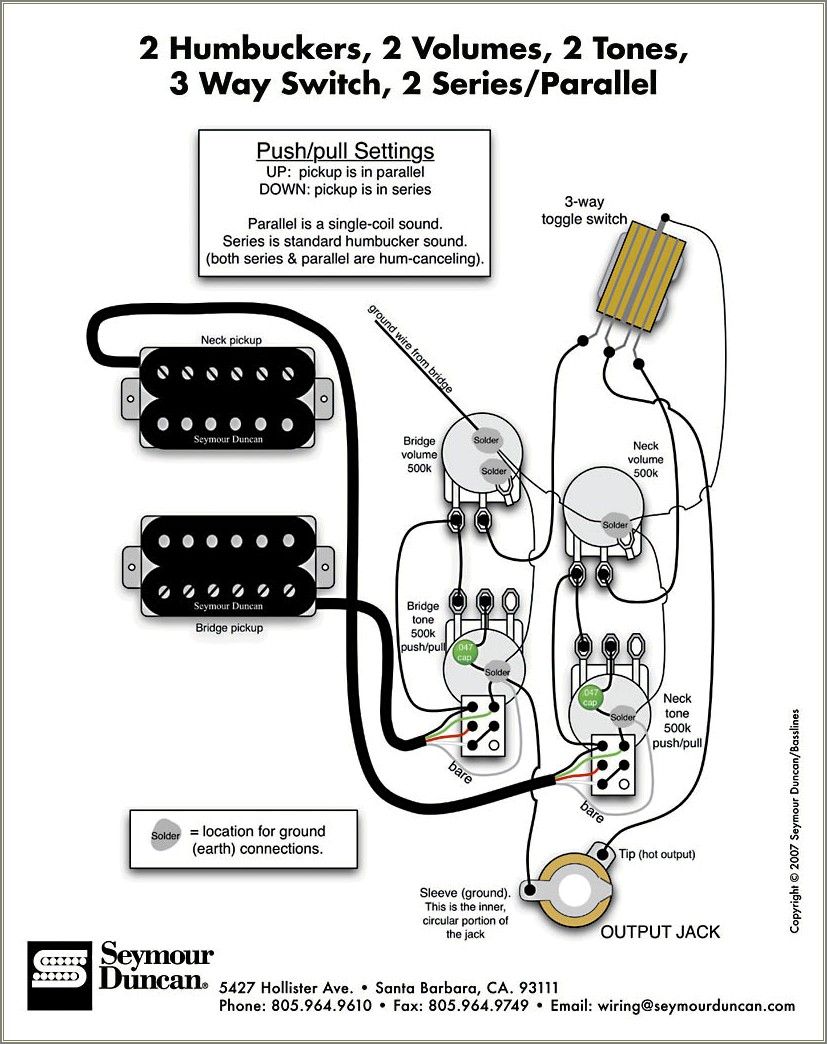 Gibson Les Paul 50s Wiring Diagram