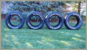Goodyear Eagle Gt Ii Raised White Letter