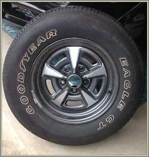 Goodyear Eagle Gt Raised White Letter Tires