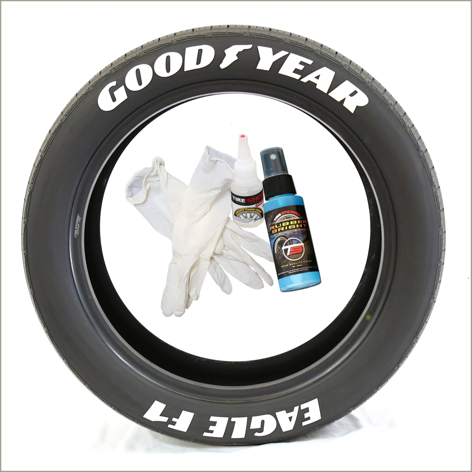 Goodyear Eagle Raised White Letter Tires
