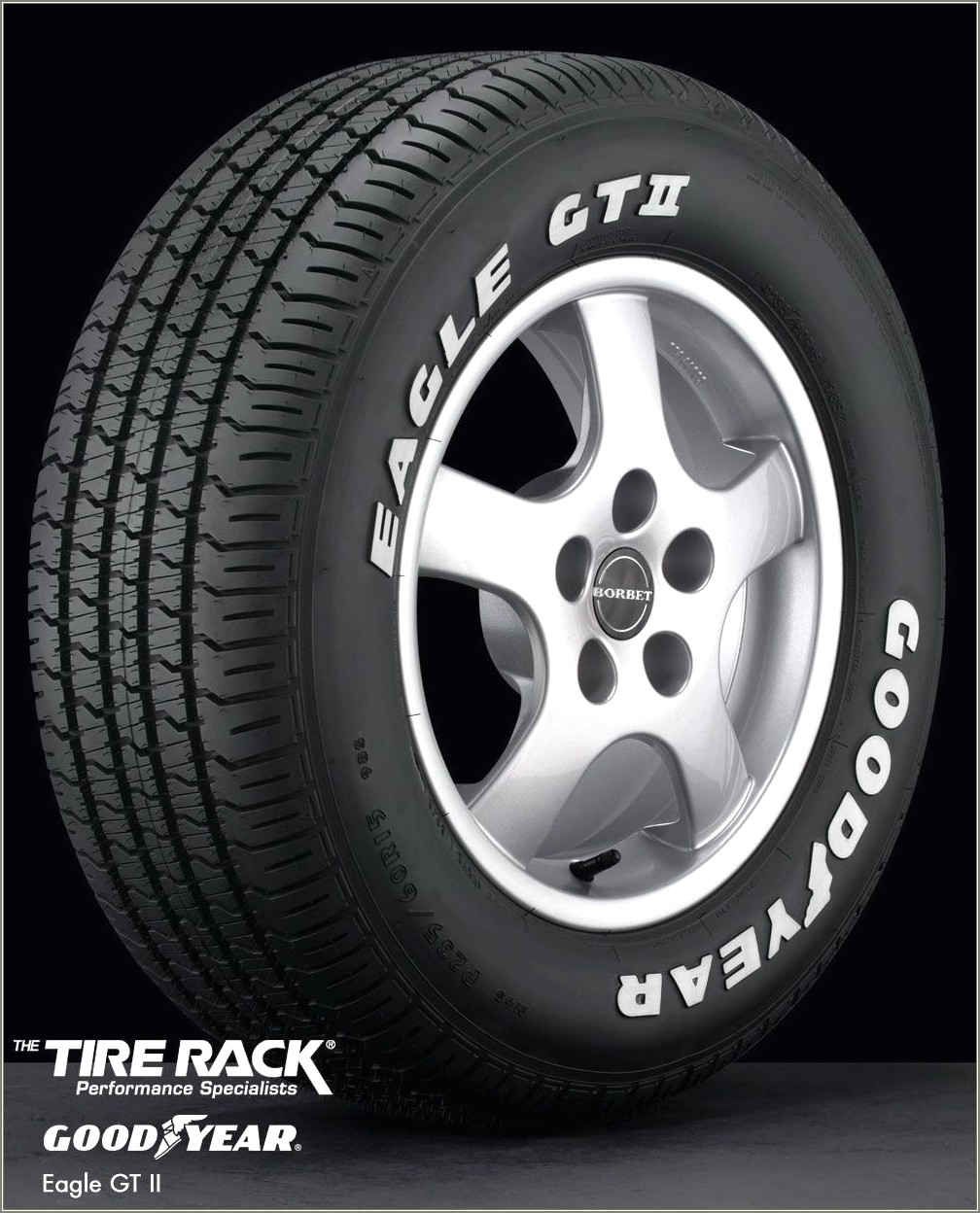 Goodyear Raised White Letter Tires