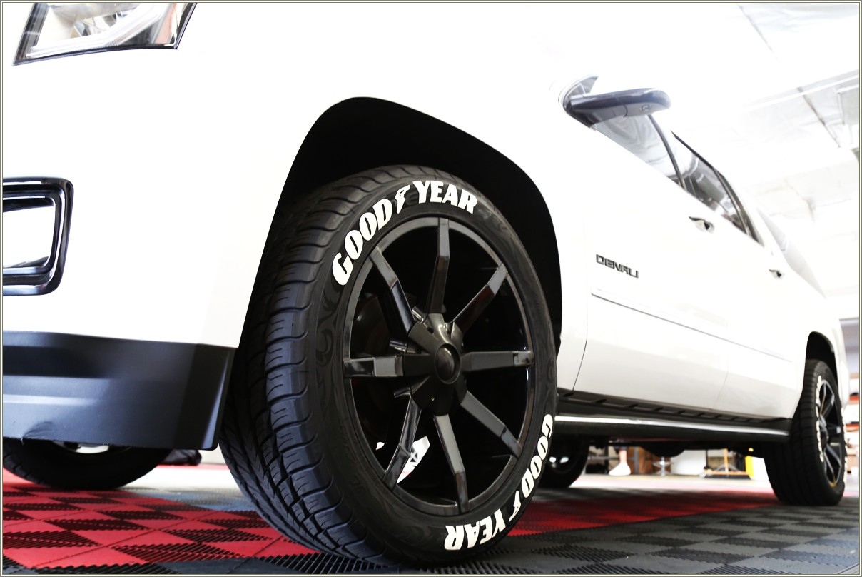 Goodyear White Letter Tires 20 Inch