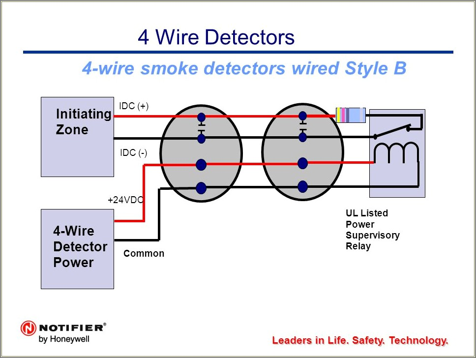 Hard Wired Smoke Detector Wiring Diagrams