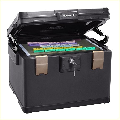 Honeywell Letter Size File Chest