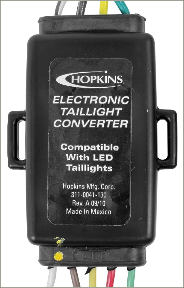 Hopkins Electronic Taillight Converter Wiring Diagram