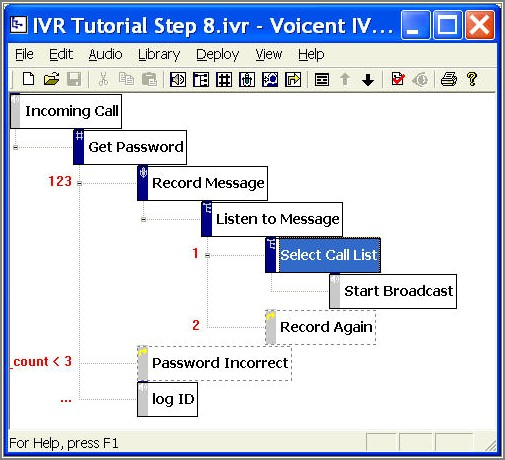 Ivr Call Flow Diagram