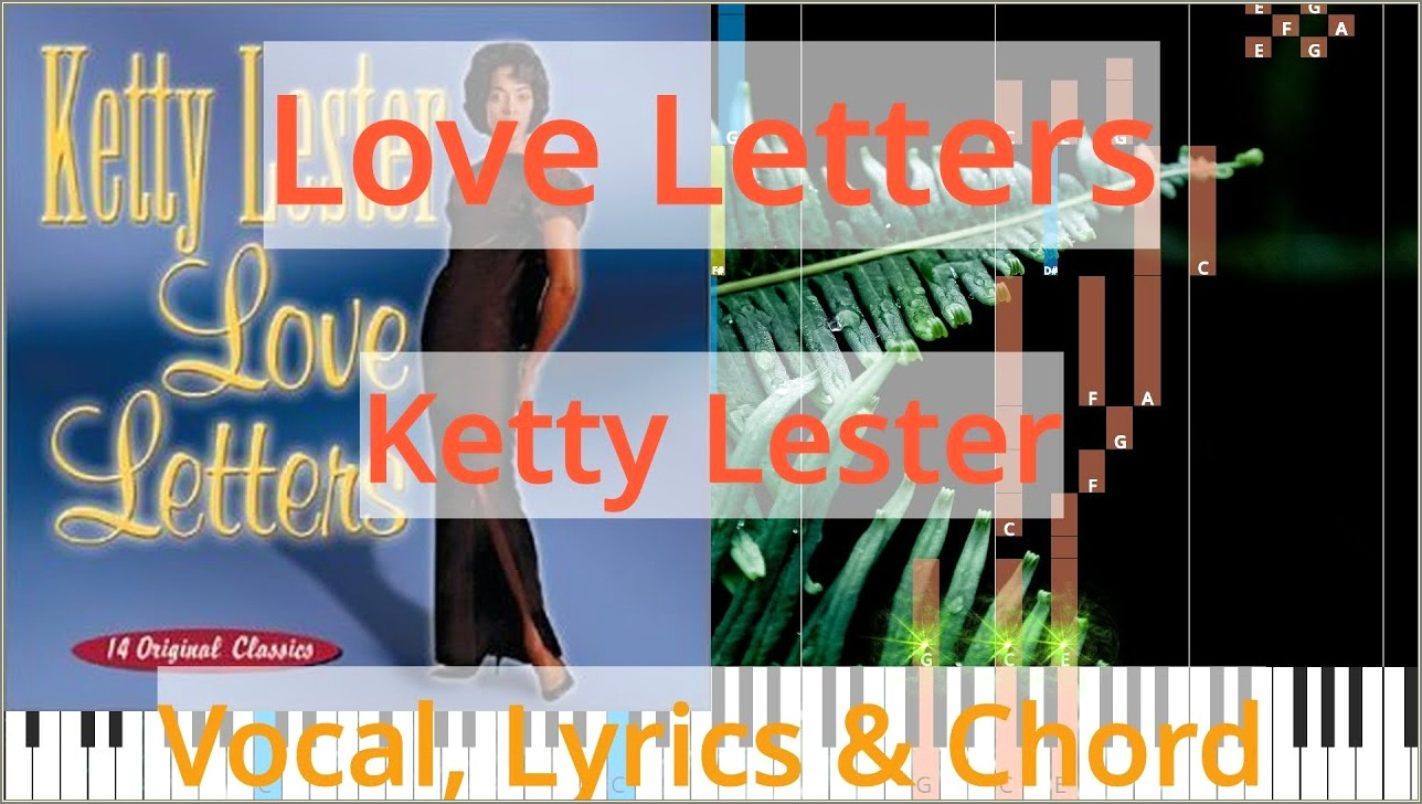 Ketty Lester Love Letters Chords