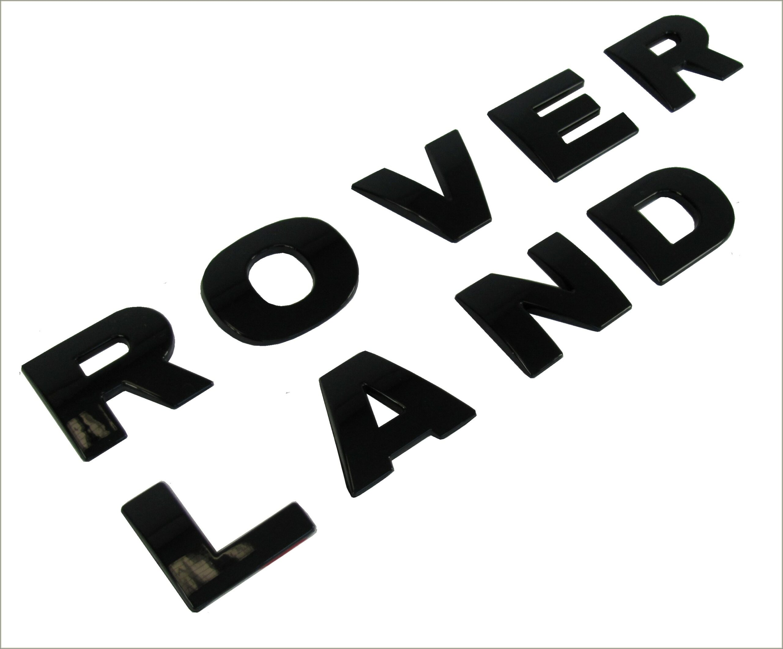 Land Rover Lettering Decals