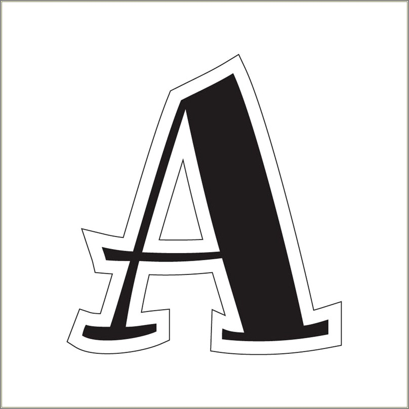 Large Printable Letters To Cut Out