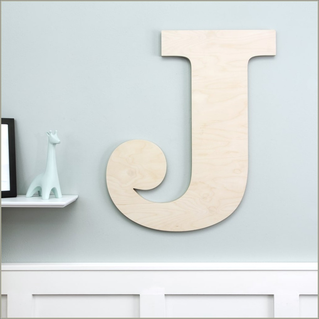 Large Wooden Letters For Wall