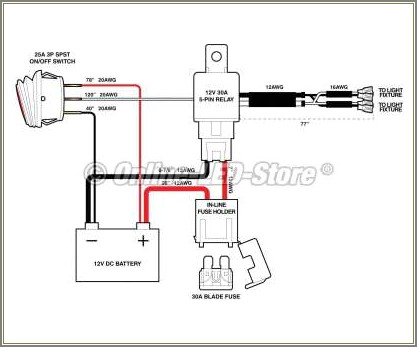 Lawn Mower Kill Switch Diagram
