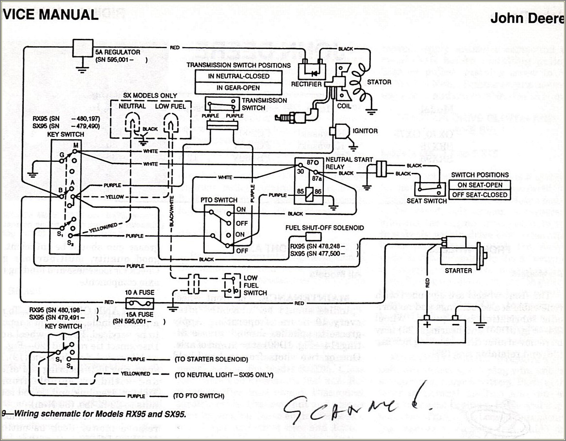 Lawn Tractor Wiring Diagram