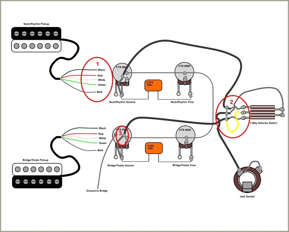 Les Paul Wiring Diagram