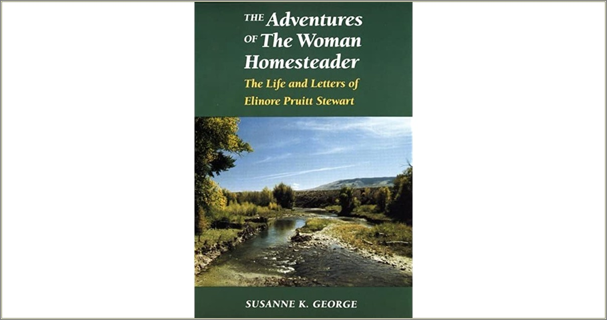 Letters Of A Woman Homesteader Discussion Questions