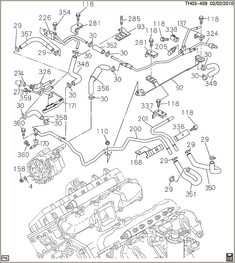 Lly Duramax Fuel Line Diagram