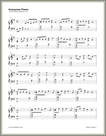 Lost Boy Piano Chords Easy Letters