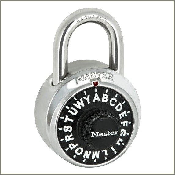 Master Lock Letter Combination