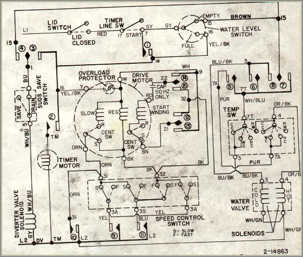 Maytag Washer Wiring Diagram