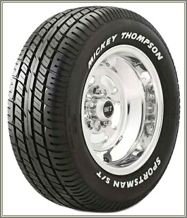 Mickey Thompson Tire Lettering