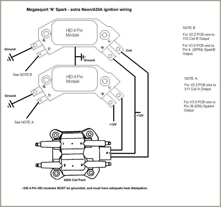 Mopar Hei Conversion Wiring Diagram