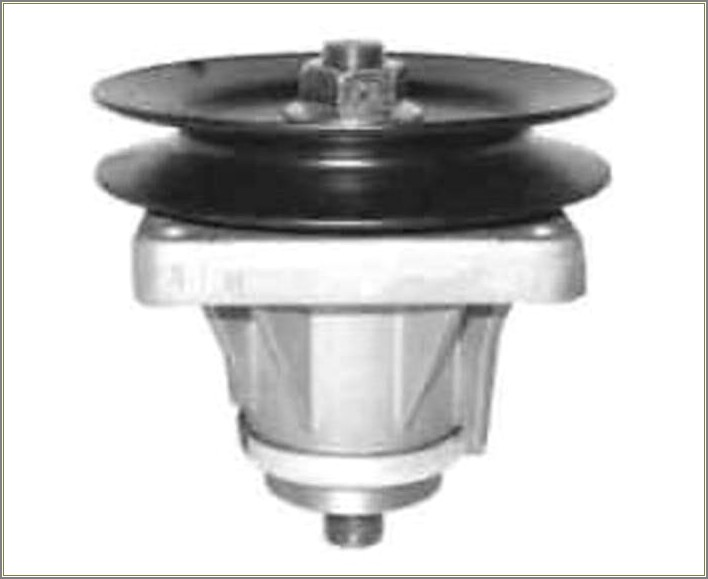 Mtd Spindle Assembly Diagram