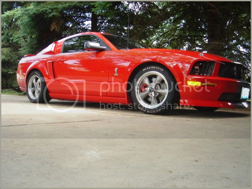 Mustang Tires White Letters