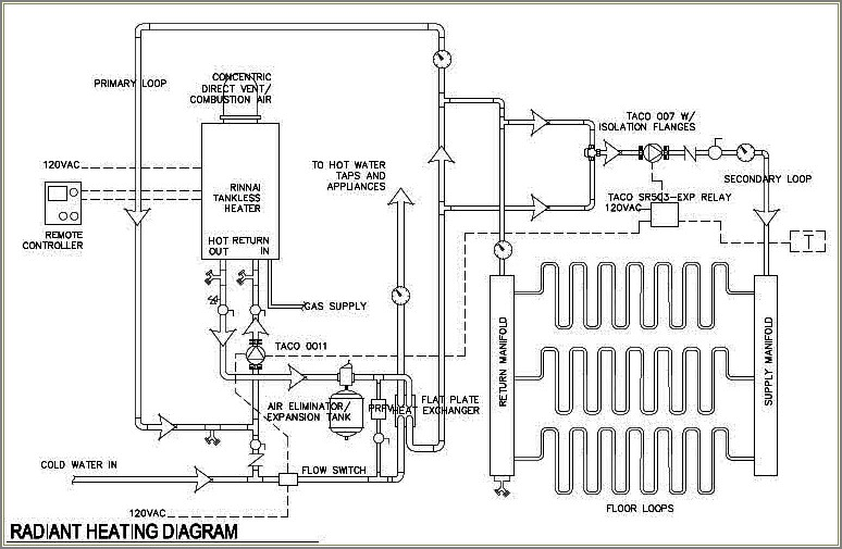 Navien Tankless Water Heater Piping Diagram