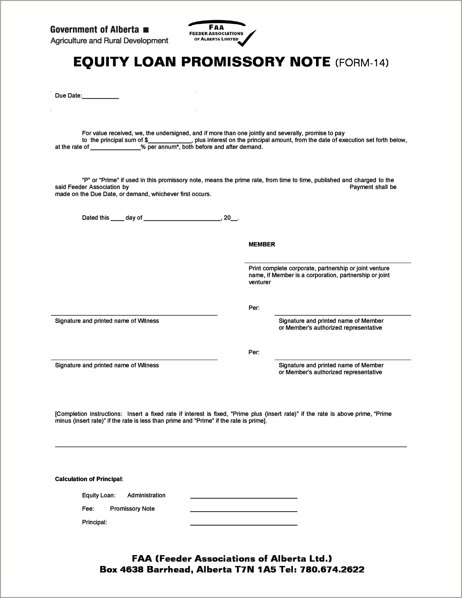 Payment Simple Promissory Note Sample Letter